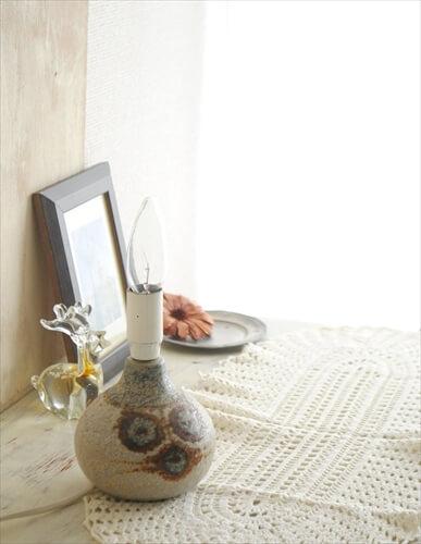 デンマーク製 SOHOLM 陶器 デスクランプ Cactus スーホルム 北欧 照明 ライト ヴィンテージ アンティーク