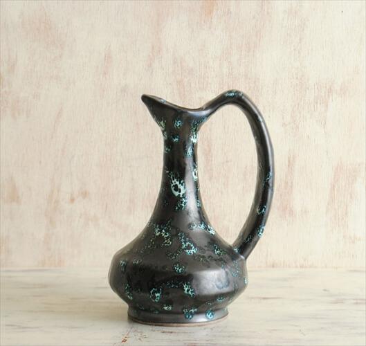 フランス製 ヴィンテージ Vallauris 陶器の花瓶 花器 一輪挿し ミッドセンチュリー期 フラワーベース アンティーク
