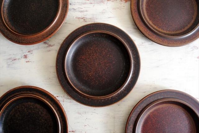 ARABIA アラビア ルスカ 20cm プレート お皿 Ruska 北欧食器 フィンランド 陶器  北欧 ヴィンテージ アンティーク