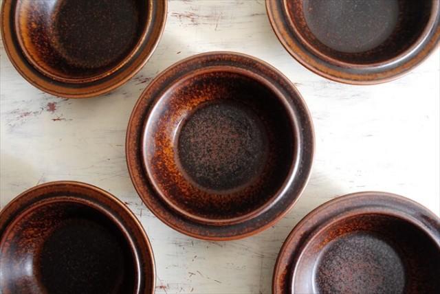 ARABIA アラビア ルスカ 17.5cm ディーププレート 深皿 Ruska 北欧食器 フィンランド 陶器  北欧 ヴィンテージ アンティーク_180120