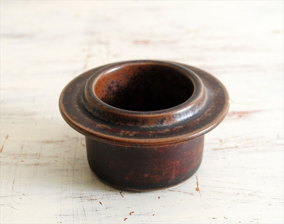 ARABIA アラビア ルスカ エッグスタンド Ruska 北欧食器 フィンランド 陶器 北欧 ヴィンテージ アンティーク