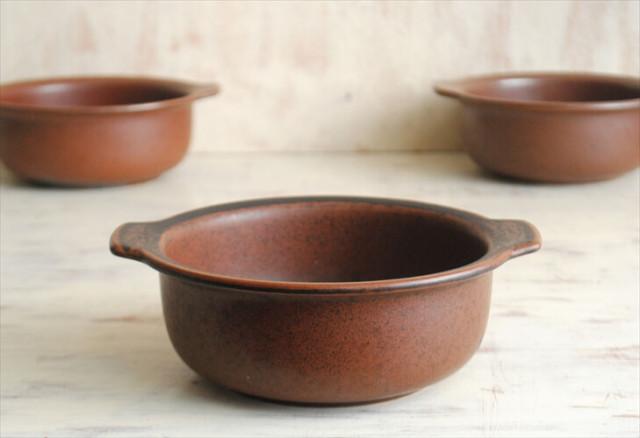 ARABIA アラビア ルスカ グラタン皿 深皿 Ruska スープボウル 北欧食器 フィンランド 陶器 北欧 ヴィンテージ アンティーク