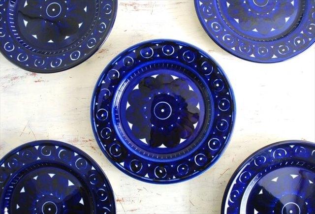 ARABIA アラビア バレンシア 19.5cm プレート お皿 Valencia 北欧食器 フィンランド 陶器 北欧 ヴィンテージ アンティーク
