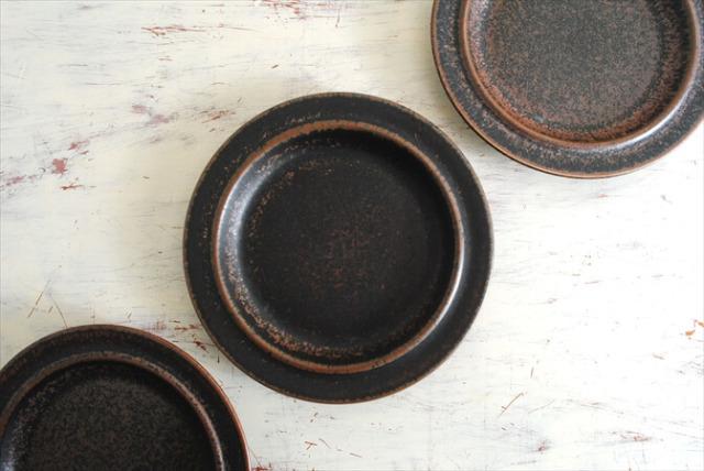 ARABIA アラビア ルスカ 17.5cm プレート お皿 Ruska 北欧食器 フィンランド 陶器 北欧 ヴィンテージ アンティーク