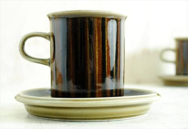 ARABIA アラビア コスモス コーヒーカップ&ソーサー KOSMOS 北欧食器 フィンランド 陶器 北欧 ヴィンテージ アンティーク