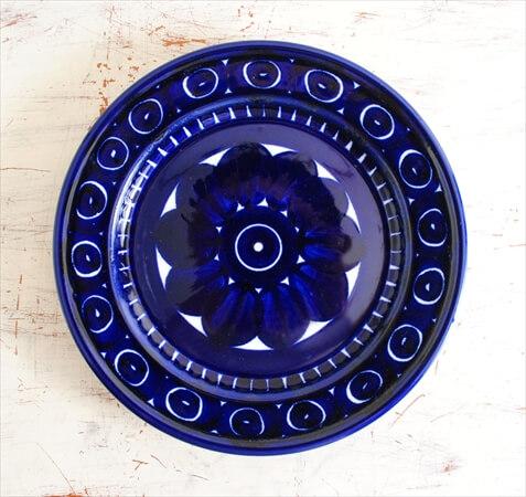 ARABIA アラビア バレンシア 17cm プレート お皿 Valencia 北欧食器 フィンランド 陶器 北欧 ヴィンテージ アンティーク