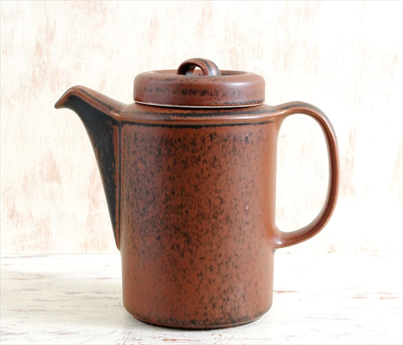 ARABIA アラビア ルスカ コーヒーポット Ruska 北欧食器 フィンランド ジャグ 陶器 北欧 ヴィンテージ アンティーク