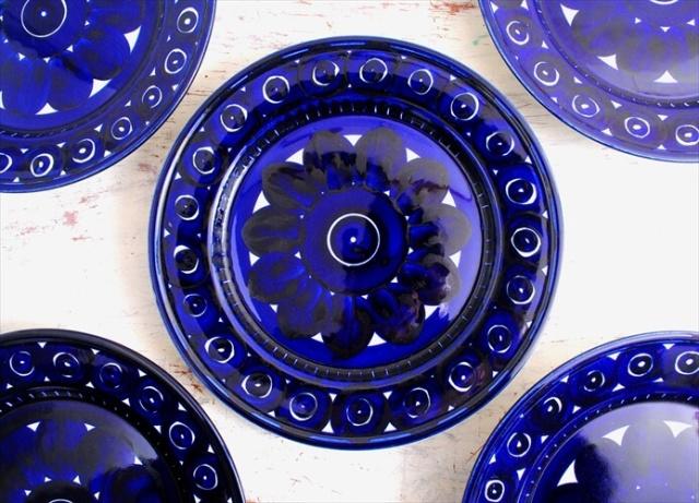 美品 ARABIA アラビア バレンシア 25cm ディナープレート お皿 Valencia 北欧食器 フィンランド 陶器 北欧 ヴィンテージ アンティーク