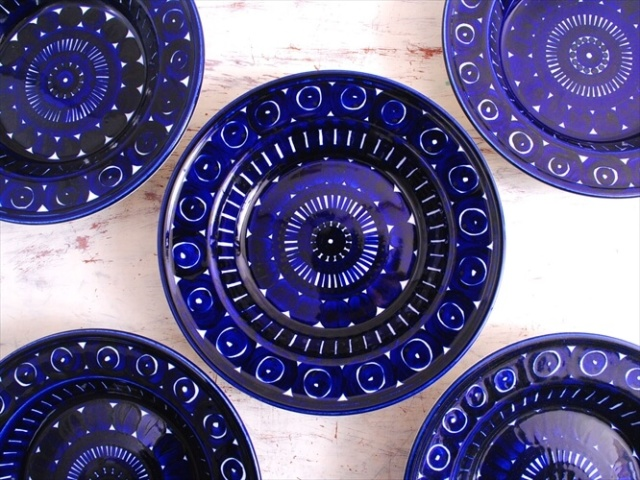 ARABIA アラビア バレンシア 23cm スーププレート 深皿 Valencia 北欧食器 フィンランド 陶器 北欧 ヴィンテージ アンティーク