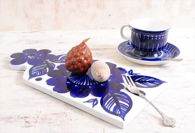 ARABIA アラビア Atelje カッティングボード ロングサイズ アトリエ 北欧食器 フィンランド 陶器 北欧 ヴィンテージ アンティーク