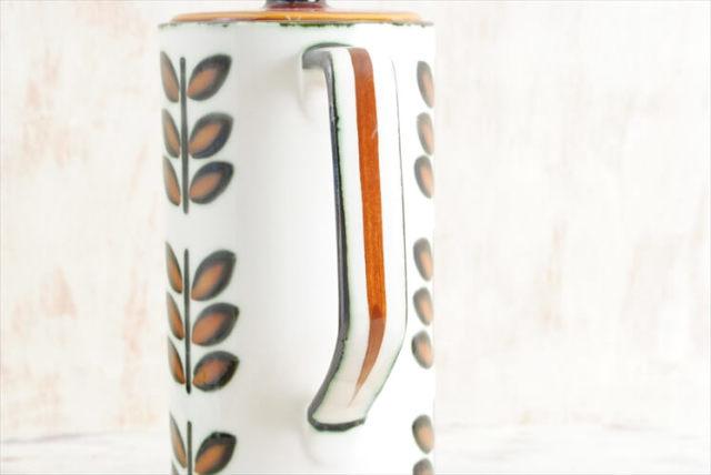 1960年代 BOCH ボッホ RAMBOUILLET コーヒーポット ピッチャー ジャグ ランブイエ 磁器 アンティーク