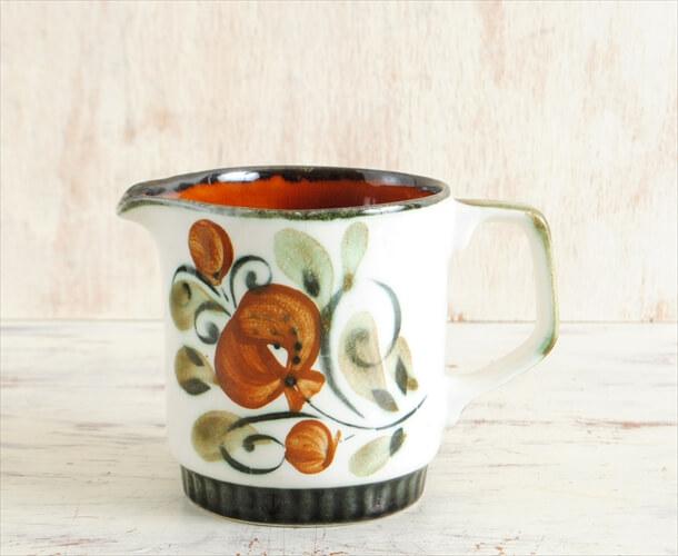 ベルギー製 BOCH ボッホ Argenteuil クリーマー ミルクジャグ アルジャントゥイユ 磁器 陶器 アンティーク