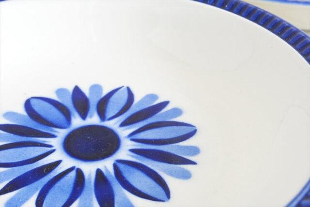 ベルギー製 BOCH ボッホ 20cm スーププレート DELTA CAPRICCIO カプリシオ 深皿 ディーププレート ヴィンテージ 食器 アンティーク