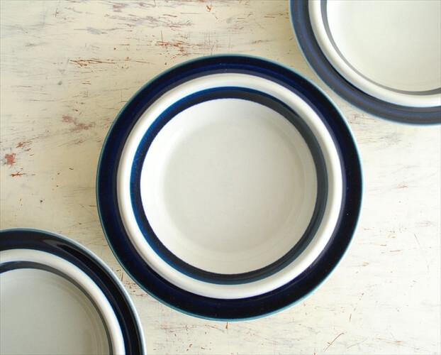 ARABIA アラビア アネモネ 19.5cm プレート Anemone お皿 ブルー 北欧食器 フィンランド 北欧 ヴィンテージ アンティーク