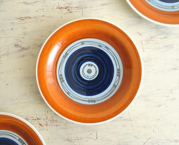 RORSTRAND ロールストランド AUGUST 18cmプレート アウグスト お皿 磁器 スウェーデン 北欧食器 アンティーク