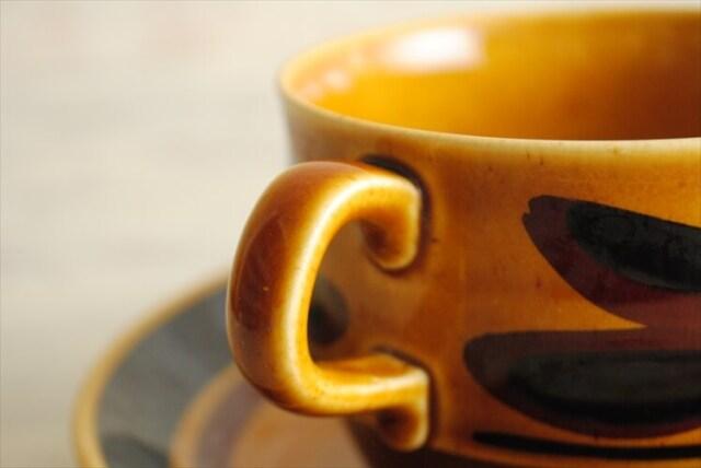 スウェーデン製 Rorstrand TUNA コーヒーカップ&ソーサー ロールストランド 北欧 食器 アンティーク