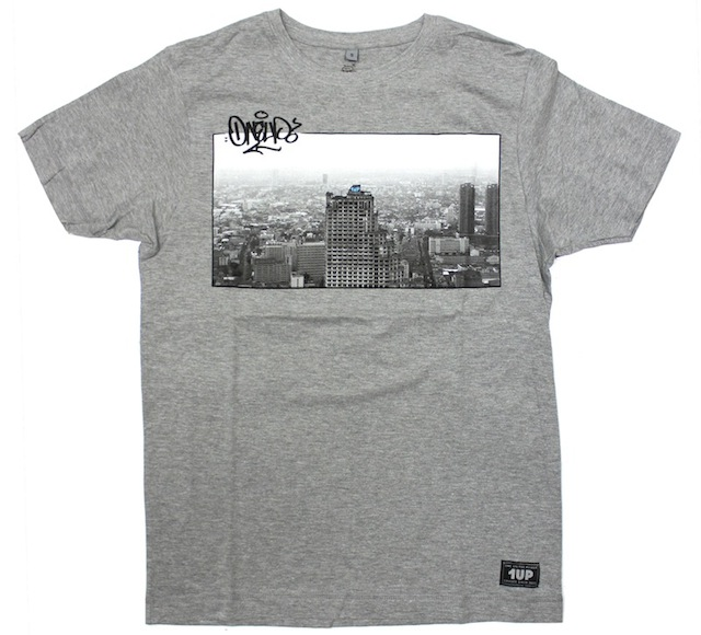 1UP 1UP Bangkok  Tシャツ grey heather