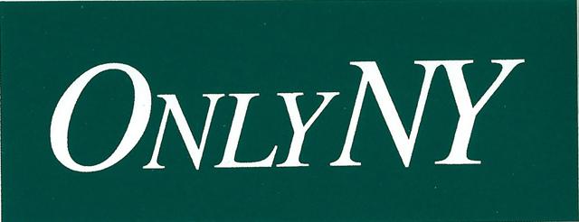 only ny logo ステッカー フォレスト