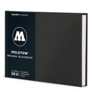 MOLOTOWオフィシャル BlackBook A5 (21×14.8cm)144ページ