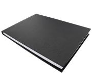 MONTANA オフィシャル Classic BlackBook A4 横開き (30.2 x 21.5cm) 144ページ