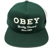 OBEY DISCORD スナップバック CAP グリーン