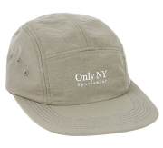 ONLY NY ''Guideline'' 5パネル ストラップバックキャップ オリーブ