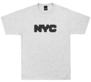ONLY NY ''NYC Logo'' Tシャツ ヘザーグレー