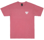 ONLY NY ''Varsity Logo'' Tシャツ ヴィンテージピンク