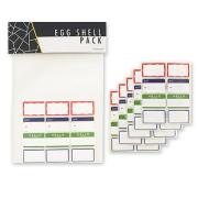 限定アイテム ''EGGSHELL STICKER'' Mini Blanks -5シート(40ミニブランク)