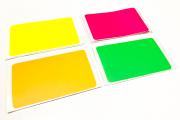 EGGSHELL TYPE  別注ブランク ''RGB ネオンステッカー''4色展開80枚入り