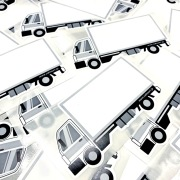 calmaart.jp オリジナル  ''トラックブランク sticker''70枚セット