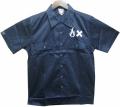 ART SIDE  S/Sワークシャツ ネイビー