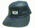 ●50%OFF●  101apparel  SOUND SYSTEM 5パネル CAP BLUE