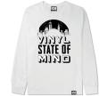 """101apparel  """"VINYL STATE OF MIND"""" ダウンロードカード付き  L/STシャツ"""