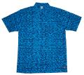 1UP  ビーチシャツ blue