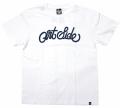 ARTSIDE  WA2デザイン ''SCRIPT LOGO'' Tシャツ ベーシック 3色展開