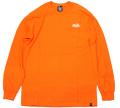 ARTSIDE COOK+WA2デザイン ''LIFE STYLE'' ポケット ロングスリーブTシャツ ブライトカラー 2色展開