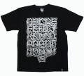"ART SIDE CASPER ""A~Z"" Tシャツ 3色展開"