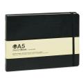 MONTANA COLORSオフィシャル BlackBook A5 よこ (15cm×21.5cm)200ページ