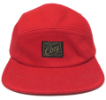 【SALE】 OBEY EXPEDITION 5パネル CAP  レッド