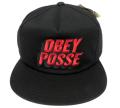 OBEY 3D POSSE ししゅう スナップバック CAP ブラック