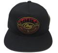 OBEY SKYLINE スナップバック CAP ブラック
