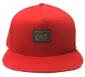 OBEY PLATEAU スナップバック CAP レッド