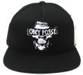 OBEY GILMAN スナップバック CAP ブラック