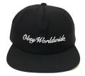 OBEY VISTA 5パネル ストラップバック CAP ブラック