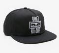 OBEY NO ONE スナップバック CAP ブラック