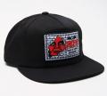 OBEY SHOUT スナップバック CAP ブラック