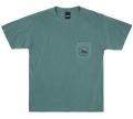 ONLY NY ''Loon Society'' ポケットTシャツ エメラルド