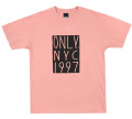 ONLY NY ''NYC 1997'' Tシャツ ヴィンテージピンク