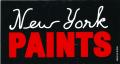 ONLY NY ''PAINTS'' ステッカー ブラック